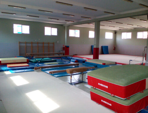 Valencia: Sala de Gimnasia Polideportivo el Cabanyal